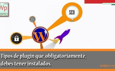 5 Tipos de Plugins Imprescindibles en WordPress